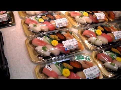 Sushi in Tokyo ! Isetan supermarket
