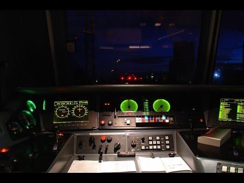 FS E412 - Anfahrt bei Regen mit Makroschlupf