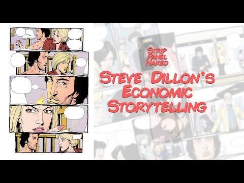 Steve Dillon's Economic Storytelling | Preacher | Strip Panel Naked