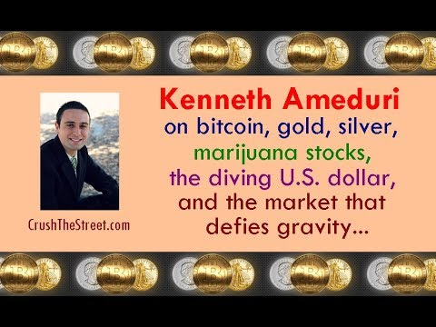 Kenneth Ameduri on bitcoin, gold & silver, marijuana stocks, the dollar, & more. // Crush the Street