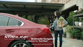 Subaru - Starlink TomTom