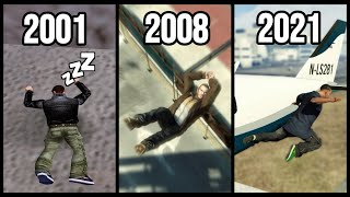 PHYSICS LOGIC in GTA Games (2001-2021)