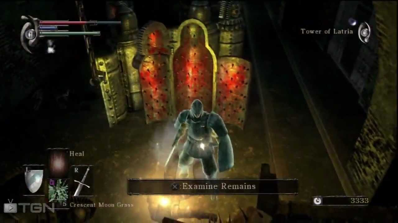 Demon S Souls 27 Tower Of Latria Singing Lady In A Cell