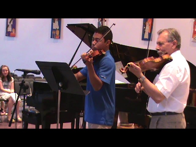 Willem de Fesch Duet for 2 violins