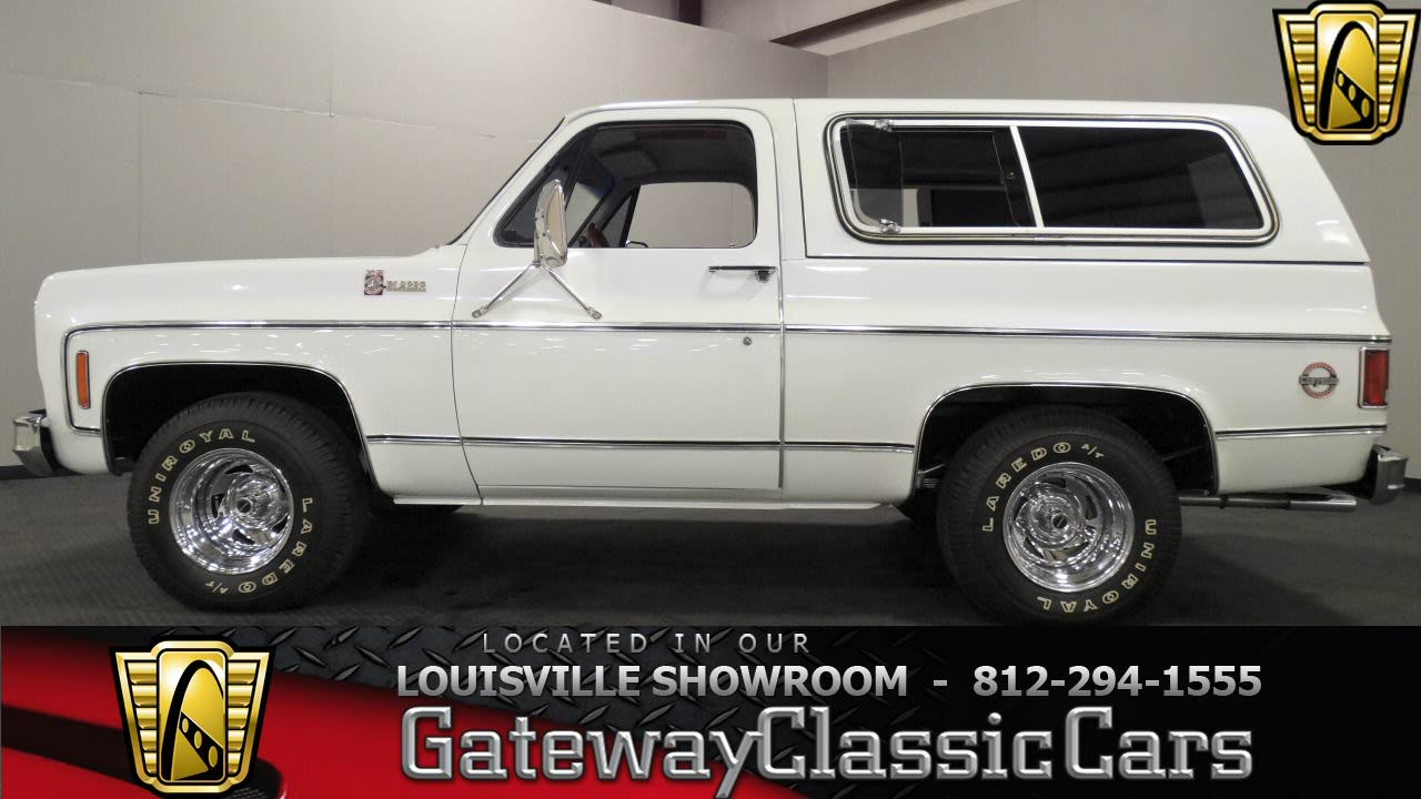 1978 Chevrolet K5 Blazer - Louisville Showroom - Stock #1046 - YouTube