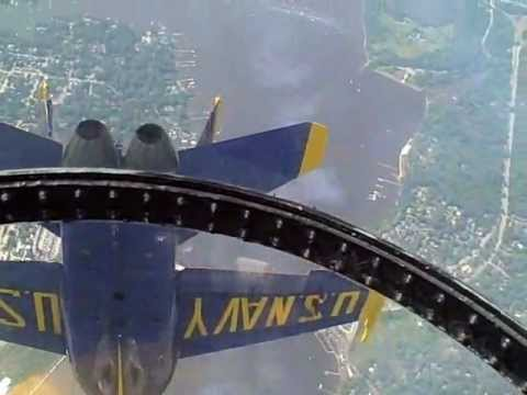 THE BLUE ANGELS: Live Cockpit Footage: