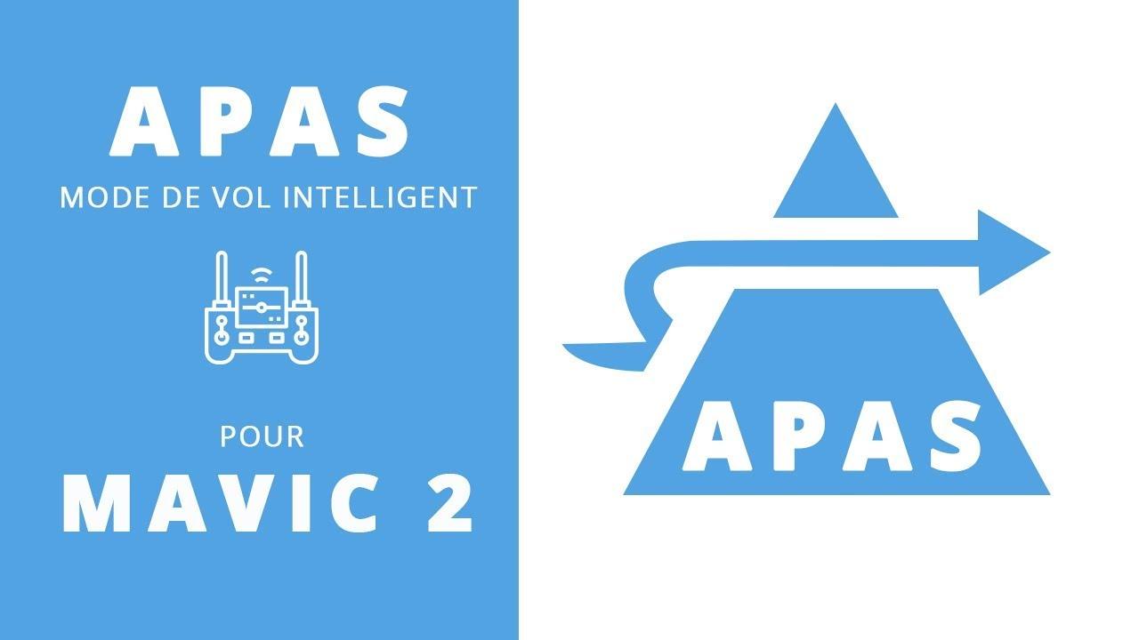 DJI APAS (assistance avancée au
