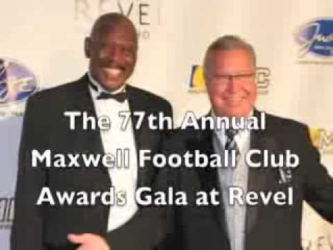 Maxwell Awards 2014 at Revel Casino Hotel - Ron Jaworkski, Peyton Manning, Chip Kelly