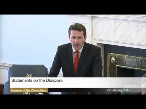 Seanad: Statements on the Diaspora  - 23rd February 2017