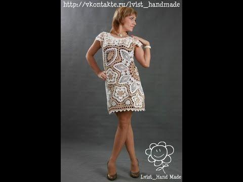 Крючком платье контакте