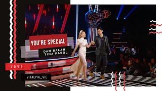 Дан Балан и Тина Кароль - 'Ты моя кенгуруша'. Голос країни.