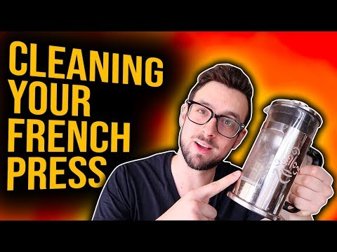 YOU ARE CLEANING YOUR FRENCH PRESS WRONG!