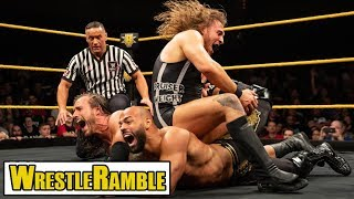 Match Of The Year Contender?! WWE NXT Oct. 10 2018 Review!   WrestleTalk