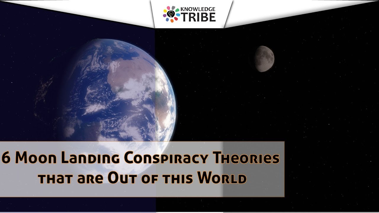 6 Moon Landing Conspiracy Theories that are out of this world!