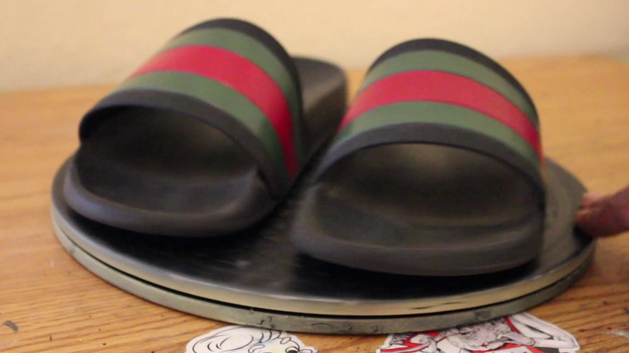 d9cf1365433b Gucci Flip Flop Restoration by Funky Fresh Footwear LLC - YouTube