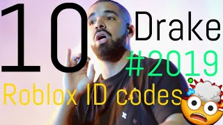 10 Drake ROBLOX popular music codes/ID(S) *2019* *WORKING