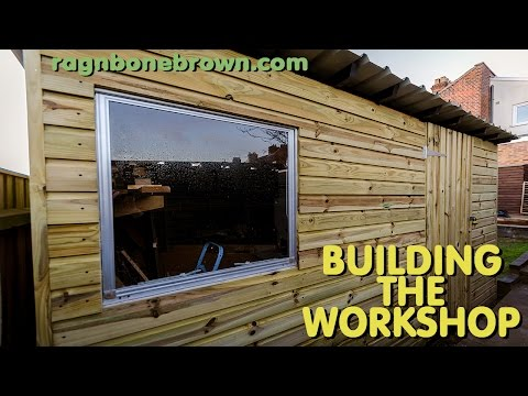 Building The Workshop Shed Part 1 Of 3 Youtube