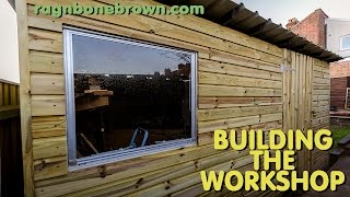 Building The Workshop Shed (part 1 Of 3)