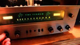 Fisher 500C Tube Amp & Cambridge Soundworks M50 Speakers