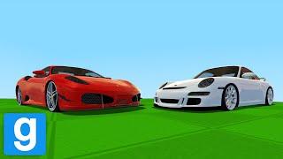Ferrari vs. Porsche - Garry's Mod