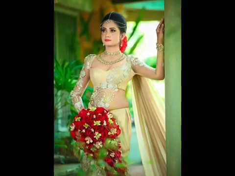Sri lankan weddings bridal saree designs youtube for Wedding party dresses in sri lanka