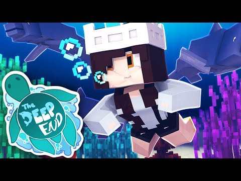 FIRST UNDERWATER VILLAGE | The Deep End SMP Ep.1