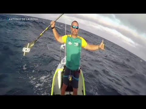 Pacey Williams - Man Just Paddle Boarded From San Francisco to Hawaii!