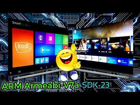 Android TV OS Amlogic S905X SDK-23 & SDK-25 Armeabi-v7a (Root Required)