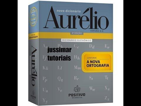 DICIONÁRIO AURÉLIO INSTALANDO E ATIVANDO from YouTube · Duration:  8 minutes 30 seconds