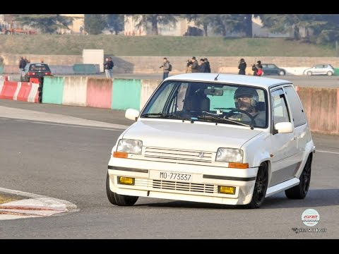 Renault 5 gt turbo ISAM Aprile 2016 collaudo power shift