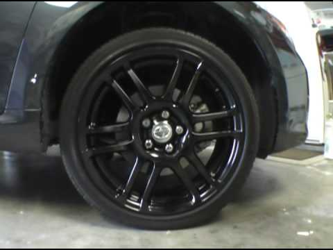 scion tc painting rims youtube. Black Bedroom Furniture Sets. Home Design Ideas