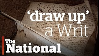 """""""Draw Up a Writ""""   Election Terms Explained"""