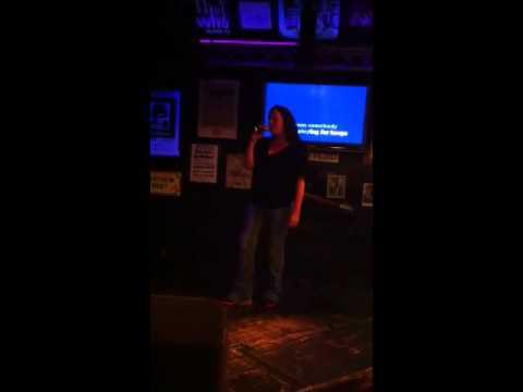 Leann Rimes Commitment cover live at karaoke