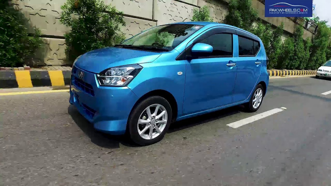 Daihatsu Mira ES 2017 8th Generation Detailed Review: Price, Specs & Features | PakWheels