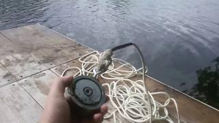 Поисковый магнит Обзор Первый заброс и находки Рыбалка на магнит Magnet Fishing