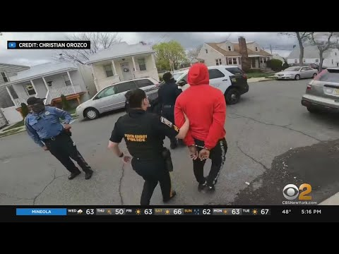 Controversial Encounter Between Perth Amboy Police, Juveniles Riding Bicycles Caught On Camera