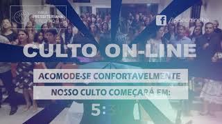 Culto Matutino - Rev. Marcelo - 24/01/2021