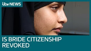 IS schoolgirl Shamima Begum stripped of UK citizenship - what happens now? | ITV News