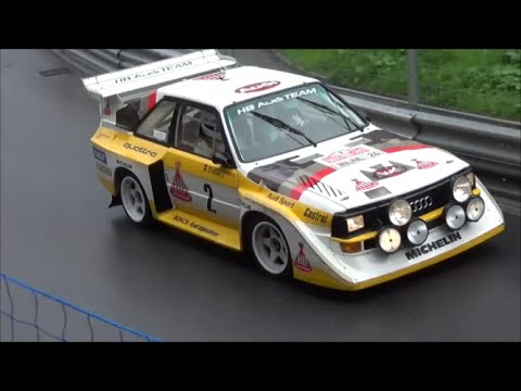 audi quattro s1 pure sound at hillclimb arosa 2014 original walter r hrl youtube