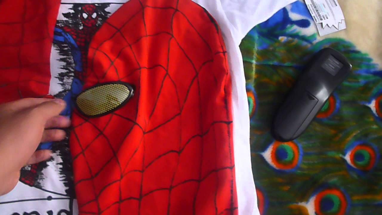 Como hacer la mascara de the amazing spider man parte 4 - Como hacer una mascara ...