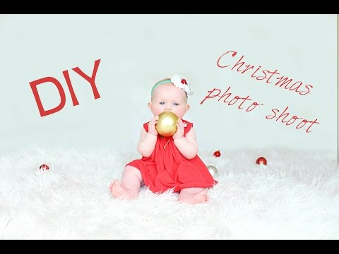 DIY Christmas photo shoot + the end results!