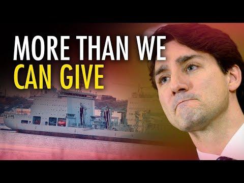 Ezra Levant: Trudeau's feminist defense budget fails Canadian veterans