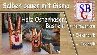 Holz Osterhasen ( Deutsch )