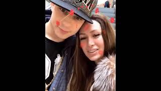 Алена Ашмарина и Илья Григоренко в сторис 14 02 2019