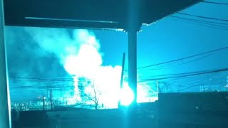 Watch the transformer explosion that lit up New York City's night sky