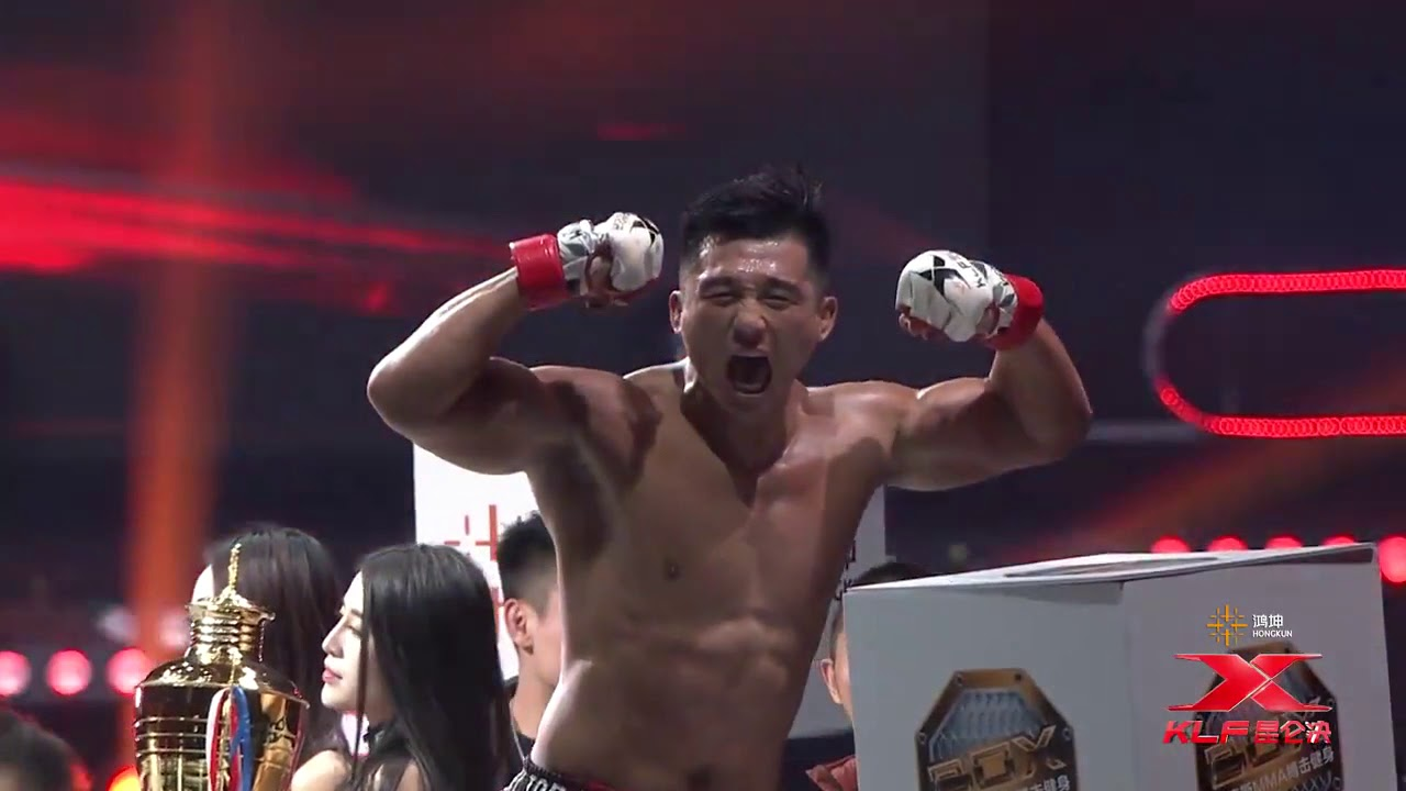 PTT Chinese MMA fighter Zhang LiPeng picks up TKO Win Vs Ítalo Gonçalves at  Kunlun Fight 69