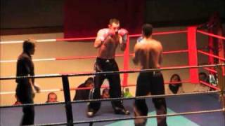 Championnat d'Europe Full contact - Wilfried Martin vs Rachid Boumalek part1.wmv