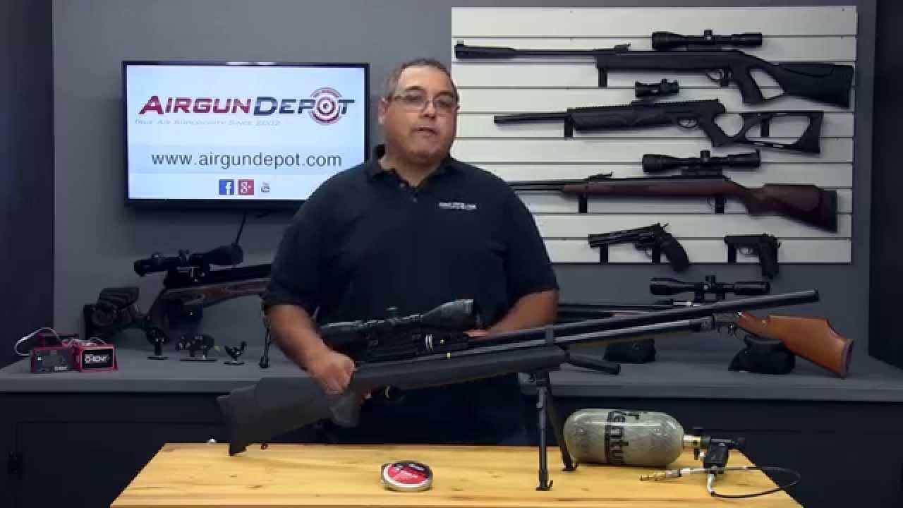 Hatsan AT44 Long Quiet Energy  25 Cal - Airgun Review by Rick Eutsler /  AirgunWeb com