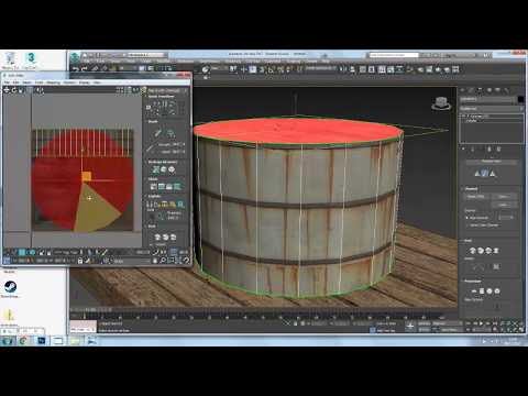 Modelling and Texturing a Water Tanker