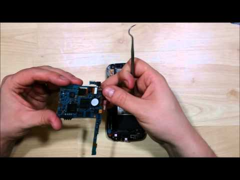 Samsung Nexus Power Button Replacement and Disassembly  i515 L700